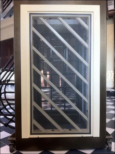 Grate di sicurezza per finestre prezzi good grate di sicurezza apribili su misura con doppio - Grate finestre prezzi ...