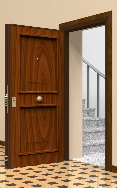 Porte Blindate con Recupero esterno della porta esistente